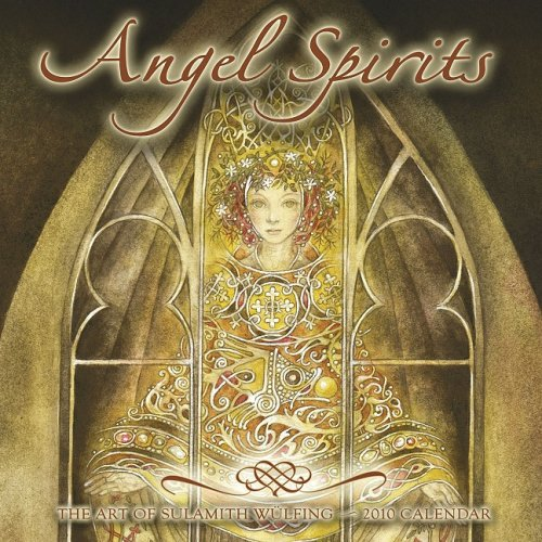 9781602372450: Angel Spirits Calendar: The Art of Sulamith Wulfing