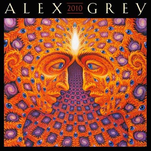 9781602372979: Alex Grey 2010 Mini Calendar