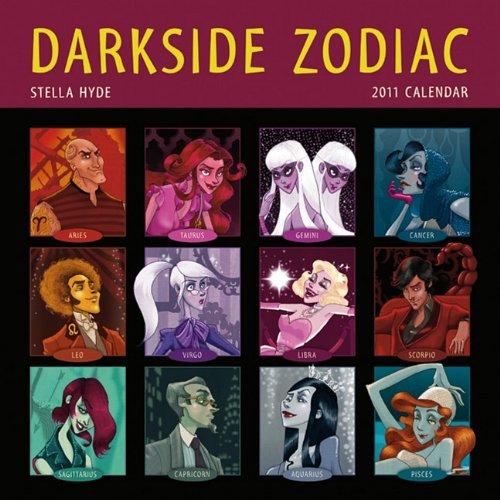 9781602374133: Darkside Zodiac 2011 Wall Calendar