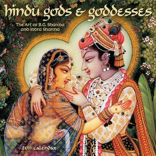9781602374164: Hindu Gods & Goddesses 2011 Wall Calendar