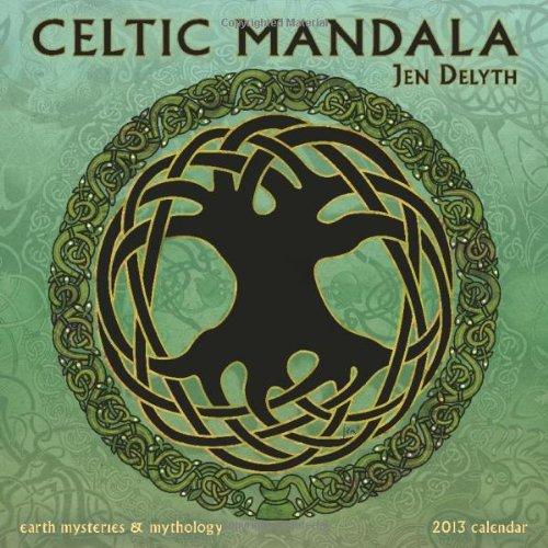 9781602376083: Celtic Mandala Calendar: Earth Mysteries & Mythology