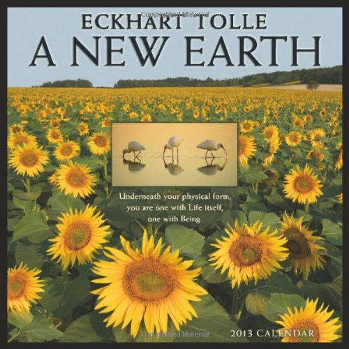 A New Earth. by Eckhart Tolle 2013 Wall Calendar (160237631X) by Eckhart Tolle
