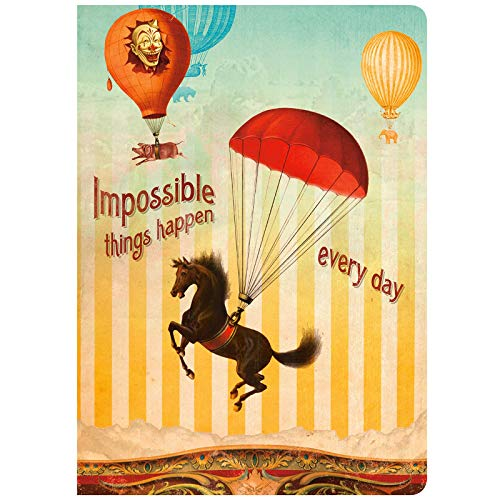 9781602376632: Impossible Things Happen Every Day Journal