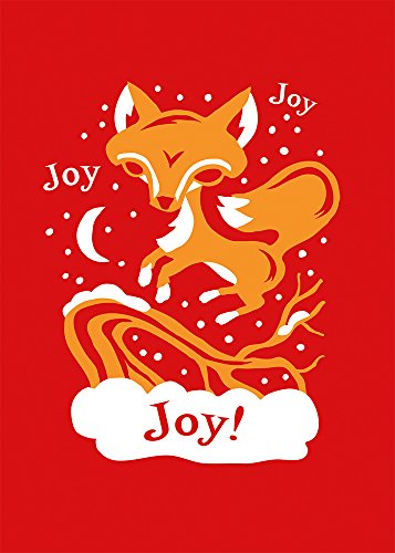 9781602378674: Jumping Joy Fox by Furturtle Show Prints Boxed Holiday Cards, set of 12