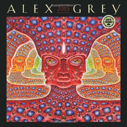 9781602378742: Alex Grey 2015 Wall Calendar
