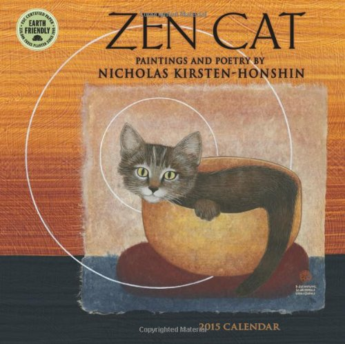 9781602379374: Zen Cat: Paintings by Nicholas Kirsten-Honshin 2015 Mini Calendar