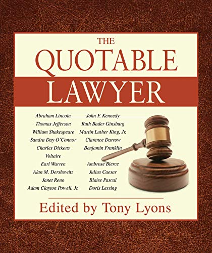 The Quotable Lawyer: Lyons, Nick