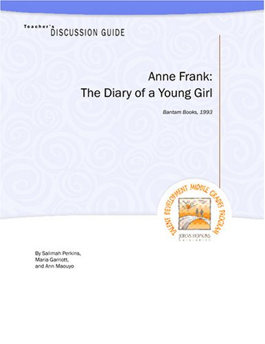9781602400092: Teacher's Discussion Guide to Anne Frank: The Diary of a Young Girl