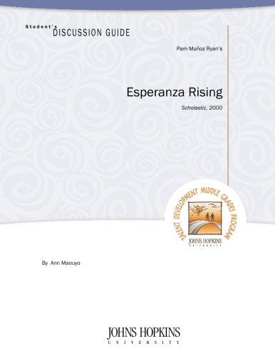 Student's Discussion Guide to Esperanza Rising: Maouyo, Ann
