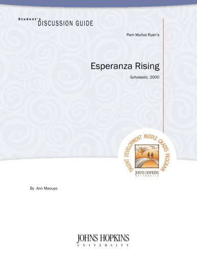 Student's Discussion Guide to Esperanza Rising: Maouyo, Ann