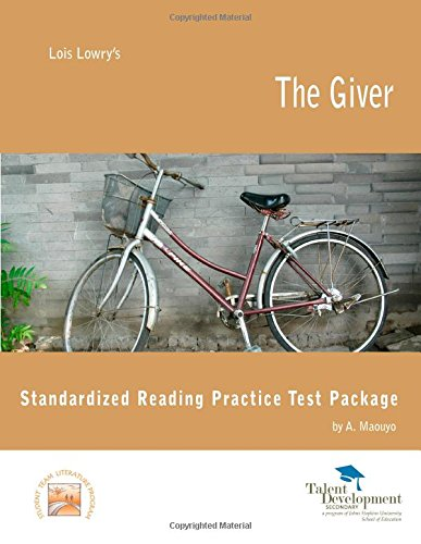 9781602401471: The Giver Standardized Reading Practice Test Package