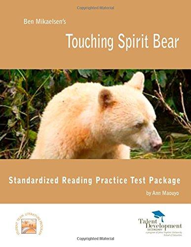 9781602402218: Touching Spirit Bear Standardized Reading Practice Test Package