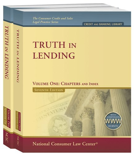 Truth in Lending: National Consumer Law Center