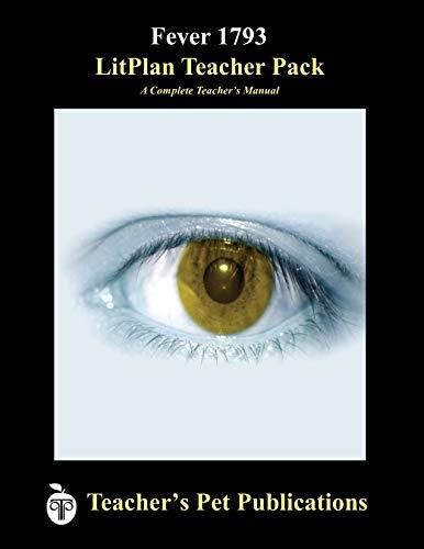 9781602490550: Fever 1793 LitPlan - A Novel Unit Teacher Guide With Daily Lesson Plans (LitPlans on CD)