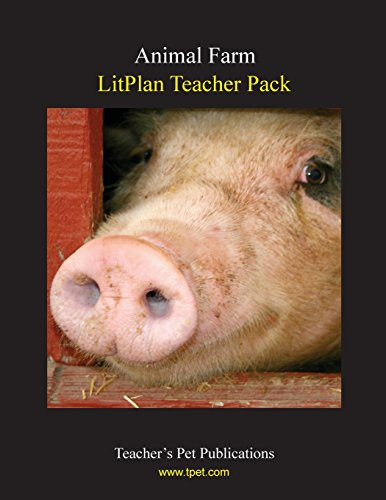 9781602491281: Animal Farm LitPlan - A Novel Unit, Teacher Guide With Daily Lesson Plans (Paperback)