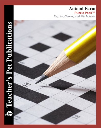 9781602492844: Animal Farm Puzzle Pack - Teacher Lesson Plans, Activities, Crossword Puzzles, Word Searches, Games, and Worksheets (Paperback)
