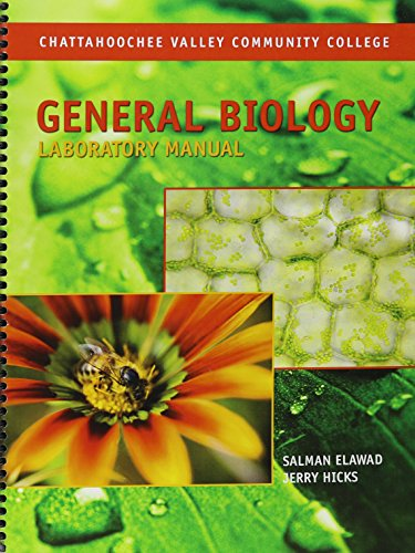 9781602501737: General Biology Laboratory Manual