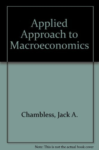 9781602501799: Applied Approach to Macroeconomics