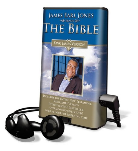 9781602526440: James Earl Jones Reads the Bible: Includes the Entire New Testament, King James Version, Library Edition