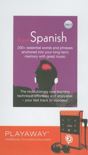 9781602527836: Rapid Spanish: Library Edition (Earworms: Musical Brain Trainer (Playaway))