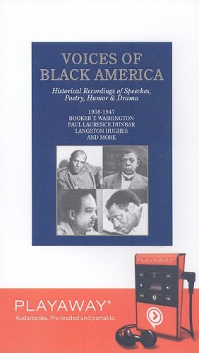 Voices of Black America (1602528012) by Washington, Booker T.; Dunbar, Paul Lawrence; Hughes, Langston