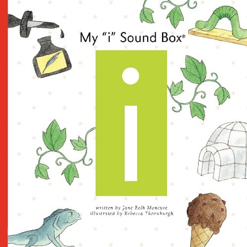 "My ""I"" Sound Box (Sound Box Books): Jane Belk Moncure"