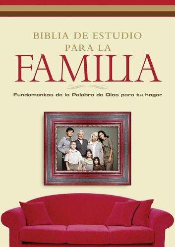 9781602550476: Biblia de Estudio Para la Familia (Spanish Edition)