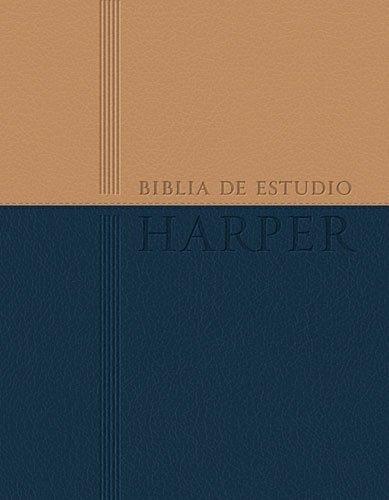 9781602557703: Biblia de estudio Harper: Duo tono (Spanish Edition)