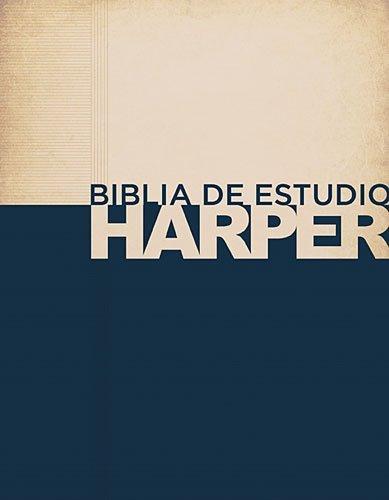 9781602558502: Biblia de estudio Harper: Tapa dura con índice (Spanish Edition)