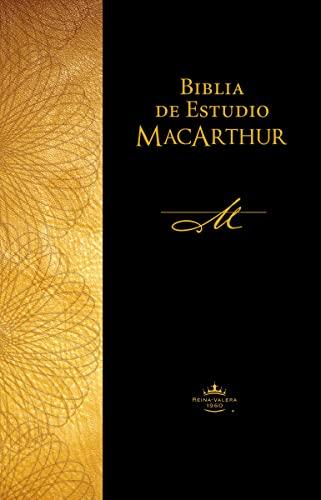 9781602559394: Biblia de Estudio MacArthur-Rvr 1960