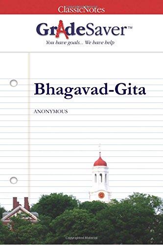 9781602590922: GradeSaver (tm) ClassicNotes Bhagavad-Gita Study Guide