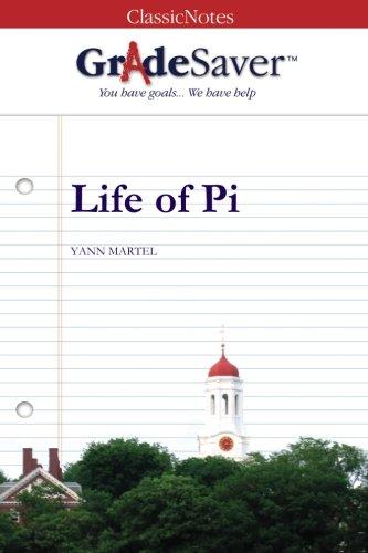 9781602591615: GradeSaver (TM) ClassicNotes Life of Pi: Study Guide