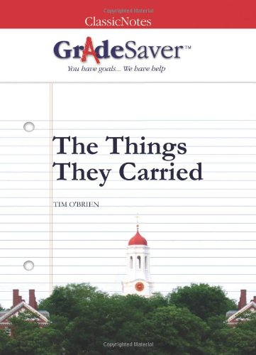 GradeSaver(TM) ClassicNotes The Things They Carried: Study Guide: Nolan, Rachel