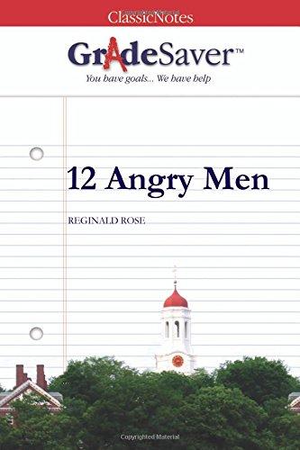 9781602592919: GradeSaver (TM) ClassicNotes: 12 Angry Men
