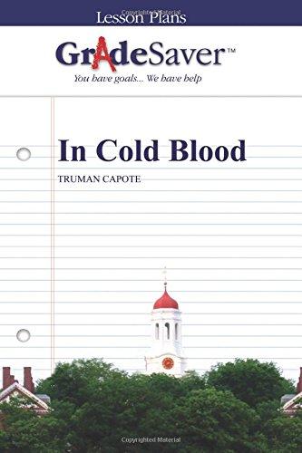 9781602594791: GradeSaver (TM) Lesson Plans: In Cold Blood