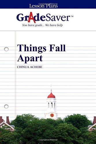 9781602594968: GradeSaver (TM) Lesson Plans: Things Fall Apart