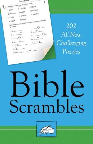 9781602603523: Bible Scrambles