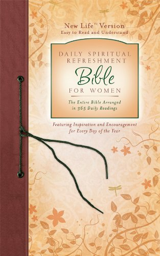 9781602604582: Daily Spiritual Refreshment For Women Bible (NEW LIFE BIBLE)