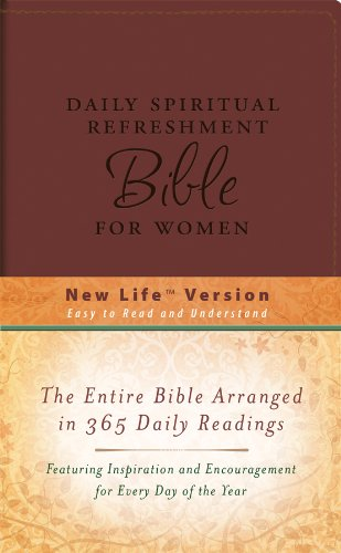 9781602604599: Daily Spiritual Refreshment For Women Bible (DiCarta) (NEW LIFE BIBLE)