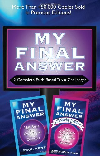 9781602607934: 2-in-1 Bible Trivia: My Final Answer / My