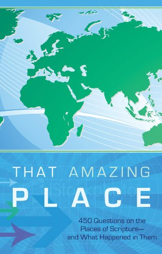That Amazing Place (Bible Trivia (Working Series Title)) (1602608970) by Tiner, John Hudson
