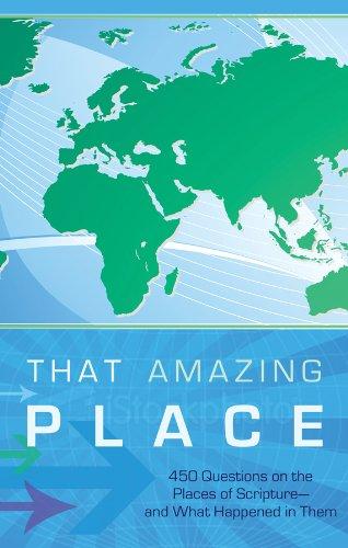 That Amazing Place (Bible Trivia (Working Series: Tiner, John Hudson