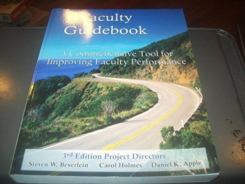 Faculty Guidebook: A Comprehensive Tool for Improving