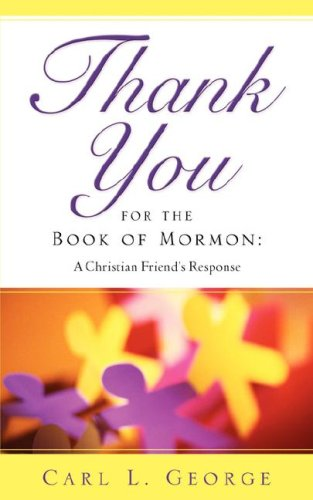 9781602662308: Thank You for the Book of Mormon