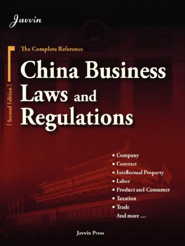 China Business Laws and Regulations (2nd Edition): Business Press