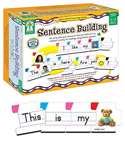 9781602680135: Sentence Building: An Early Literacy Resource That Provides for an Endless Variety of Reading and Grammar Games! (Open-Ended Learning Games)