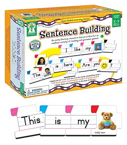 9781602680135: Sentence Building: Grade Level K-2 / Ell