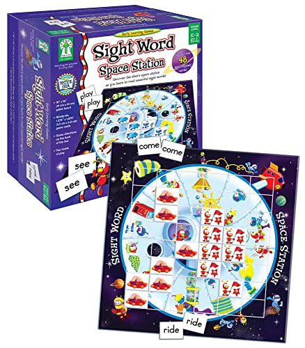 9781602680173: Sight Word Space Station: Uncover the alien's space station as you learn to read essential sight words!