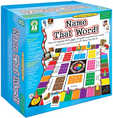 9781602680357: Name That Word (Early Learning Games)