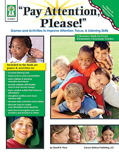 9781602680722: Pay Attention, Please! Games and Activities to Improve Attention, Focus & Listening Skills